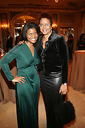 l to r: Kamilah Turner and Harriett Cole at The Fifth Annual Grace in Winter Gala honoring Susan Taylor, Kephra Burns, Noel Hankin and Moet Hennessey USA and benfiting The Evidence Dance Company held at The Plaza Hotel on February 3, 2009 in New York City.