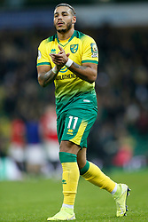 Onel Hernandez of Norwich City- Mandatory by-line: Phil Chaplin/JMP - 27/10/2019 - FOOTBALL - Carrow Road - Norwich, England - Norwich City v Manchester United - Premier League
