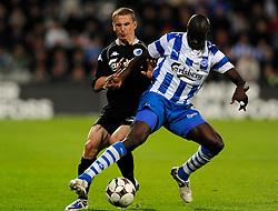 DK Caption:<br /> 20090513, Odense, Danmark:<br /> SAS Liga fodbold OB - FC København<br /> Zdenek Pospech, FCK., Njogu Demba-Nyrén, OB Odense.<br /> Foto: Lars Møller<br /> UK Caption:<br /> 20090513, Odense, Denmark:<br /> SAS Liga football OB - FC Copenhagen:<br /> Zdenek Pospech, FCK., Njogu Demba-Nyrén, OB Odense.<br /> Photo: Lars Moeller