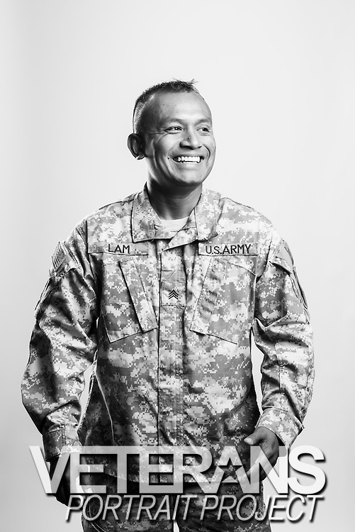 Lam Tuan<br /> Army<br /> E-5<br /> Infantry<br /> 2002 - Present<br /> HOA<br /> <br /> <br /> Veterans Portrait Project<br /> Junction City, KS