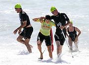 Swimmers during a triathlon. Photo: Alphapix / PHOTOSPORT