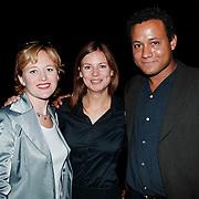 Winterpresentatie 1999 SBS6, Arianne Spier, Pernille la Lau en Ernst Paul Hasselbach
