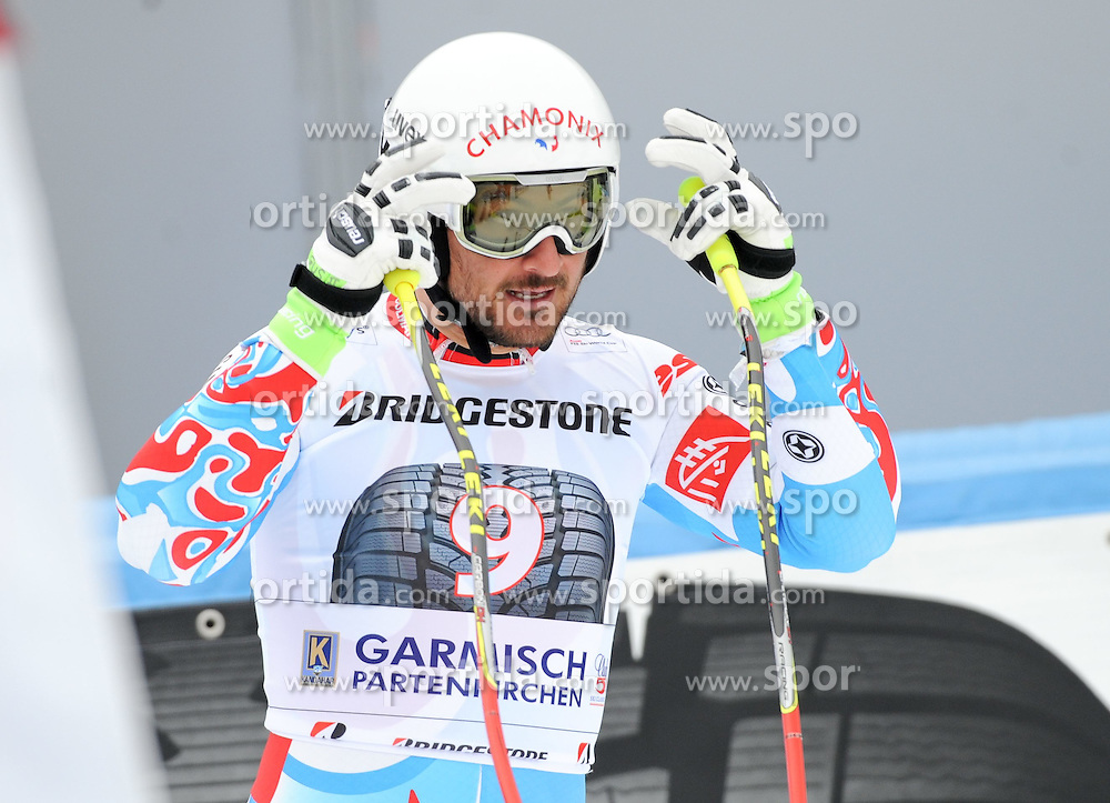 27.02.2015, Kandahar, Garmisch Partenkirchen, GER, FIS Weltcup Ski Alpin, Abfahrt, Herren, 2. Training, im Bild Guillermo Fayed of France // during the 2nd trainings run for the men's Downhill of the FIS Ski Alpine World Cup at the Kandahar in Garmisch Partenkirchen, Germany on 2015/02/27. EXPA Pictures © 2015, PhotoCredit: EXPA/ Erich Spiess