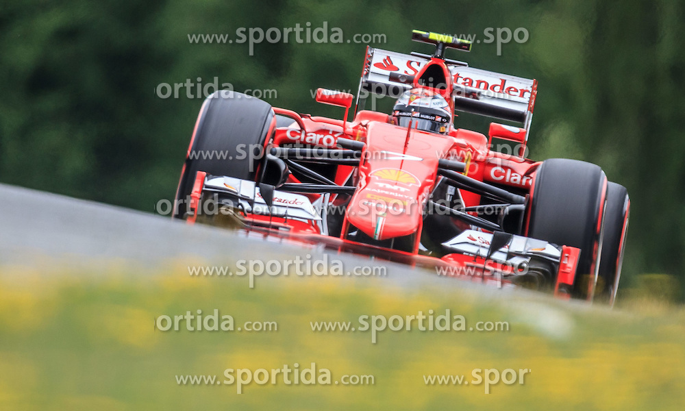 19.06.2015, Red Bull Ring, Spielberg, AUT, FIA, Formel 1, Grosser Preis von Österreich, Training, im Bild Kimi Raeikkoenen, (FIN, Scuderia Ferrari)) // during the Practice of the Austrian Formula One Grand Prix at the Red Bull Ring in Spielberg, Austria, 2015/06/19, EXPA Pictures © 2014, PhotoCredit: EXPA/ JFK