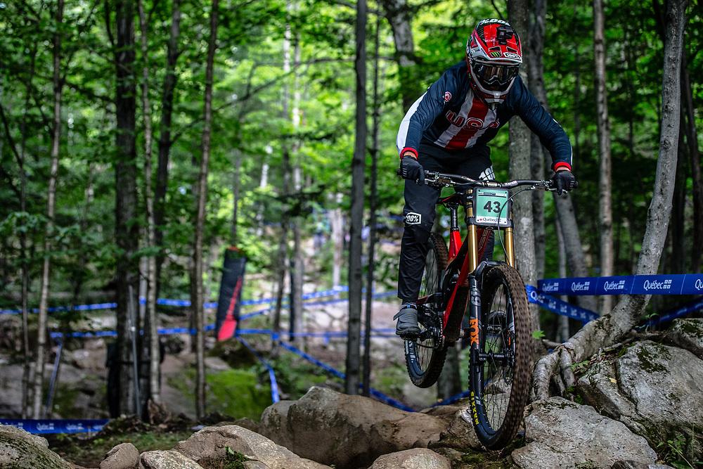 DOOLEY Austin (USA) at the Mountain Bike World Championships in Mont-Sainte-Anne, Canada.