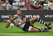 Apr 14, 2019-Rugby-HSBC Singapore Sevens-Semifinal-Fiji vs England