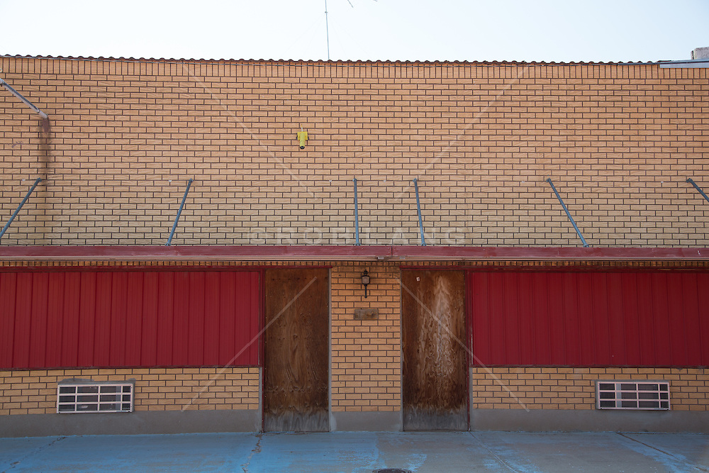 abandoned building in McClean, Texas