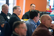 Bill Schmidt (second, left) listens during the 2015 Operation Barnabas Conference on Monday, Feb. 9, 2015, at Mount Calvary Lutheran Church in San Antonio, Texas.  LCMS Communications/Erik M. Lunsford