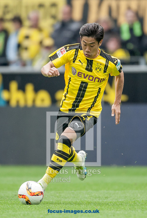 Shinji Kagawa of Borussia Dortmund during the Bundesliga match at Signal Iduna Park, Dortmund<br /> Picture by EXPA Pictures/Focus Images Ltd 07814482222<br /> 14/05/2016<br /> ***UK &amp; IRELAND ONLY***<br /> EXPA-EIB-160515-0090.jpg