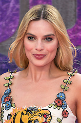 © Licensed to London News Pictures. 03/08/2016.  MARGOT ROBBIE attends the Suicide Squad UK Film Premiere  London, UK. Photo credit: Ray Tang/LNP