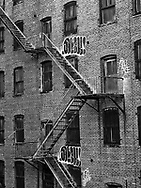 Fire escapes near the Highline
