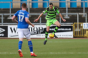 Forest Green Rovers Haydn Hollis(32) controls the ball during the EFL Sky Bet League 2 match between Carlisle United and Forest Green Rovers at Brunton Park, Carlisle, England on 27 January 2018. Photo by Shane Healey.