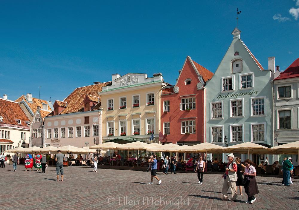 Raekoja Plats (Town Hall Square) in Tallinn, Estonia
