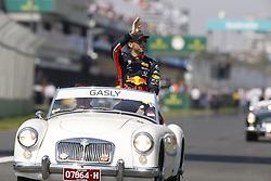 March 17, 2019 - Melbourne, Australia - Motorsports: FIA Formula One World Championship 2019, Grand Prix of Australia, ..#10 Pierre Gasly (FRA, Aston Martin Red Bull Racing) (Credit Image: © Hoch Zwei via ZUMA Wire)