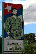 Che in Guantanamo city, Guantanamo, Cuba.