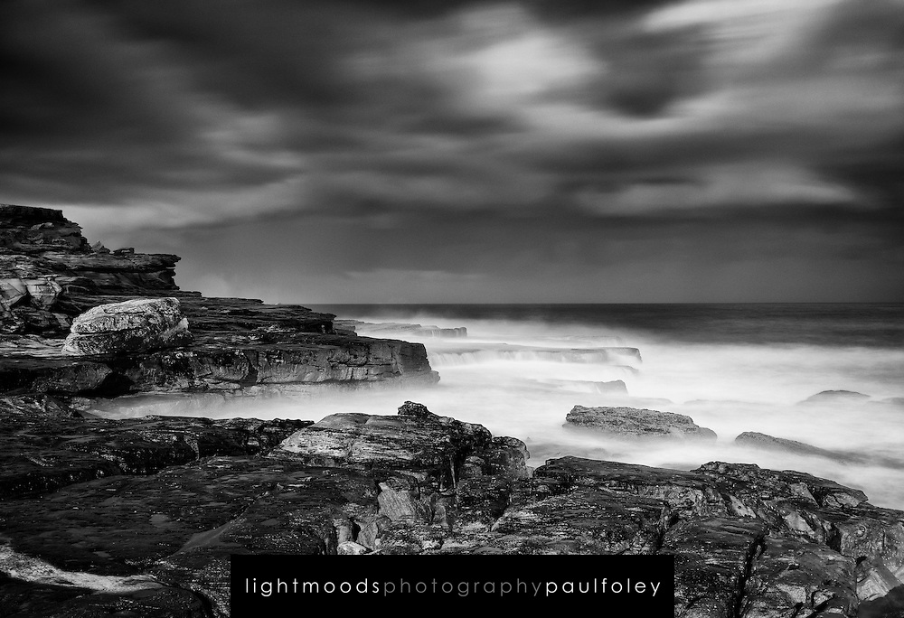 Storm surf at Sunset Maroubra, NSW, Australia.
