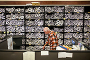 Stacks of building plans line the walls at the Department of Codes and Building Safety in downtown Nashville. The city's construction boom has caused a massive backlog of permit approvals. (The Wall Street Journal)