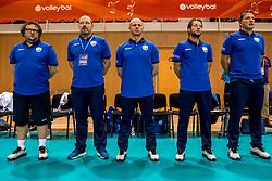 20-05-2018 NED: Netherlands - Slovenia, Doetinchem<br /> First match Golden European League / Staff Slovenia