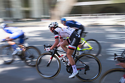 Liane Lippert (GER) of Team Sunweb accelerates out of a corner on Stage 3 of the Amgen Tour of California - a 70 km road race, starting and finishing in Sacramento on May 19, 2018, in California, United States. (Photo by Balint Hamvas/Velofocus.com)