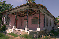 Desi Arnaz childhood home in Santiago de Cuba, Cuba.2020 from Santiago to Havana, and in between.  Santiago, Baracoa, Guantanamo, Holguin, Las Tunas, Camaguey, Santi Spiritus, Trinidad, Santa Clara, Cienfuegos, Matanzas, Havana