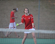 Lafayette High vs. Tunica Rosa Fort in high school tennis action in Oxford, Miss. on March 4, 2013.