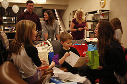 Combined birthday party for Carlee (actual), Jackson and Addyson Priest, Monday, Dec. 12, 2016 at Priest Palace in Louisville.