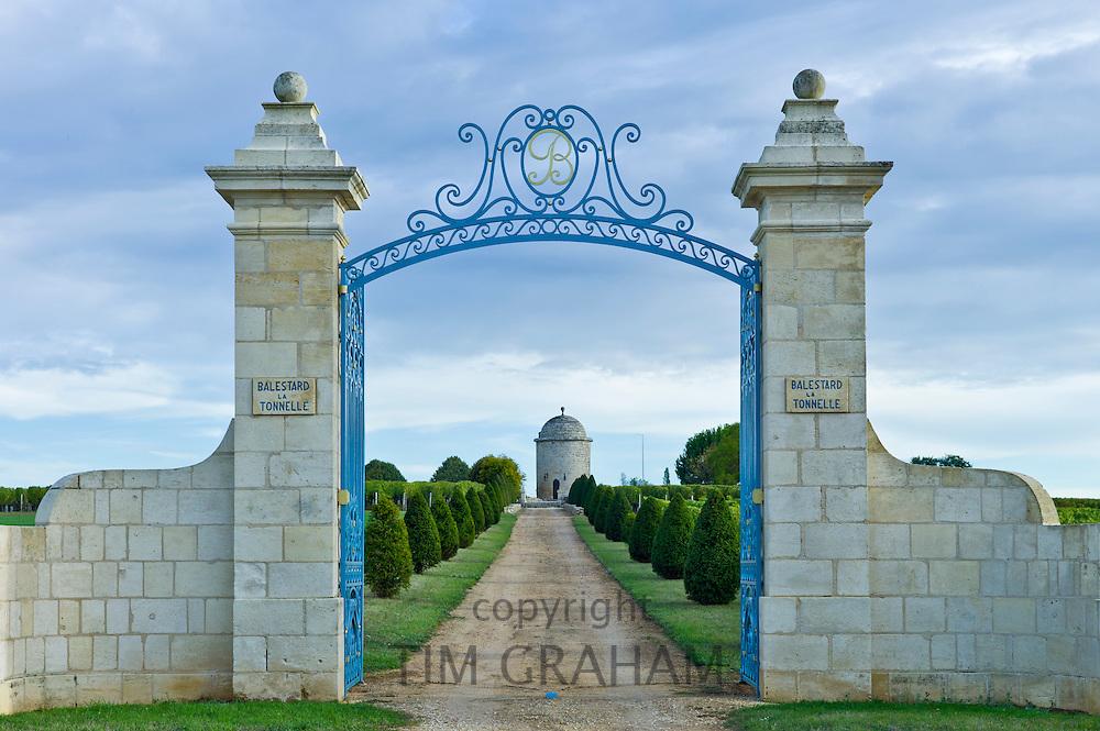 Chateau Balestard La Tonnelle at St Emilion, Bordeaux region of France