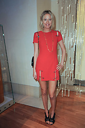 The HON.SOPHIA HESKETH at a party to celebrate the B.zero 1 design by Anish Kapoor held at Bulgari, 168 New Bond Street, London n 2nd June 2010.
