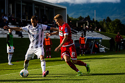 Ziga Kous of NS Mura during the football match between NK Aluminij and NS Mura in Semifinals of Slovenian football Cup 2019/20, on 9th of June, 2020 in NNC Brdo, Brdo pri Kranju, Slovenia. Photo by Grega Valancic / Sportida