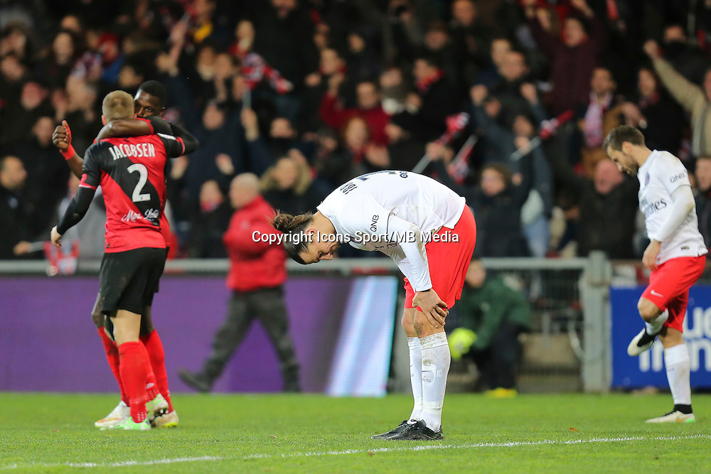 Zlatan IBRAHIMOVIC - 14.12.2014 - Guingamp / Paris Saint Germain - 18eme journee de Ligue 1<br />
