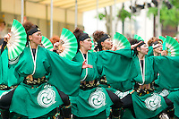 The Yosakoi Festival, held in June every year, is an internationally-acclaimed dancing competition with teams coming from all over the world to compete.