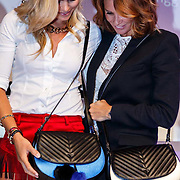 NLD/Amsterdam/20150827 - Presentatie TOVxChantal bag, Nicolette van Dam en Leontien Borsato