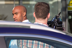 © Licensed to London News Pictures . 17/07/2015 . Manchester , UK . FABIAN DELPH arrives at the Etihad Stadium after signing for Manchester City Football Club , from Aston Villa . Photo credit : Joel Goodman/LNP