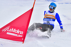 PRIOLO Paolo, SB-UL, ITA, Banked Slalom at the WPSB_2019 Para Snowboard World Cup, La Molina, Spain