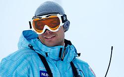 Miha Verdnik of Slovenia during  1st Run of Men's Slalom of FIS Ski World Cup Alpine Kranjska Gora, on March 6, 2011 in Vitranc/Podkoren, Kranjska Gora, Slovenia.  (Photo By Vid Ponikvar / Sportida.com)