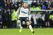 Wayne Rooney during the EFL Sky Bet Championship match between Derby County and Hull City at the Pride Park, Derby, England on 18 January 2020.