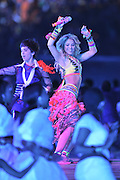 JOHANNESBURG, SOUTH AFRICA- Sunday 11 July 2010, Shakira during the closing ceremony held at Soccer City in Soweto during the 2010 FIFA Soccer World Cup..Photo by Roger Sedres/Image SA