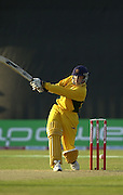 14/6/03 Photo Peter Spurrier.Imber Court - Esher - Surrey.2003 - Cricket - Twenty/20 - Surrey Lions v Essex Eagles.Andy Flower