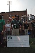 President McDavis Hurricane Relief Check