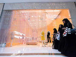 Stella McCartney fashion boutique in The Dubai Mall in Dubai United Arab Emirates