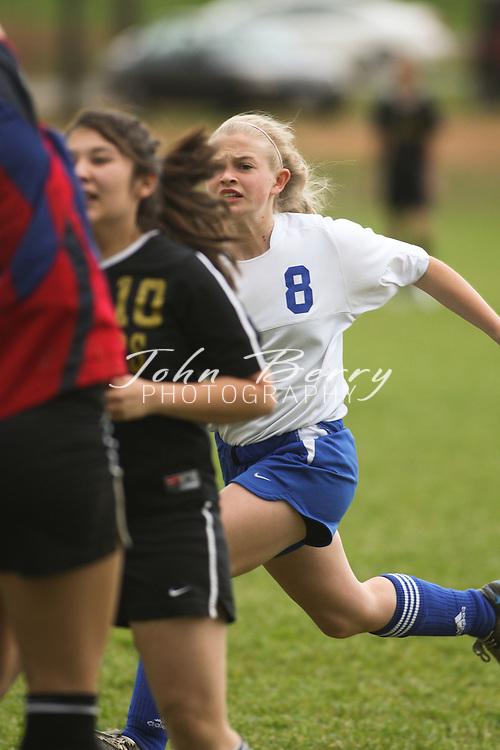 MCHS JV Girl's Soccer .vs Manassas Park .4/21/2009