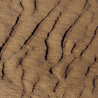 Prince Edward Island patterned beach sand