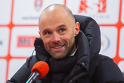 Rotherham United manager Paul Warne - Mandatory by-line: Ryan Crockett/JMP - 24/02/2018 - FOOTBALL - Aesseal New York Stadium - Rotherham, England - Rotherham United v Doncaster Rovers - Sky Bet League One