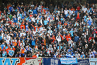 Supporters Marseille - 01.05.2015 - Metz / Marseille - 35e journee Ligue 1<br /> Photo : Fred Marvaux / Icon Sport