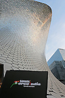 The Soumaya Museum - venue for the 2015 Sahara Force India F1 Team livery reveal.<br /> Sahara Force India F1 Team Livery Reveal, Soumaya Museum, Mexico City, Mexico. Wednesday 21st January 2015.