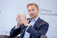 28 JUN 2019, BERLIN/GERMANY:<br /> Christian Lindner, FDP Bundesvorsitzender, waehrend einer Diskussion, Tag des Deutschen Familienunternehmens, Hotel Adlon<br /> IMAGE: 20190628-01-182