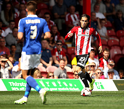 Brentford's Jota on the ball - Mandatory by-line: Robbie Stephenson/JMP - 07966386802 - 08/08/2015 - SPORT - FOOTBALL - Brentford,England - Griffin Park - Brentford v Ipswich Town - Sky-Bet Championship
