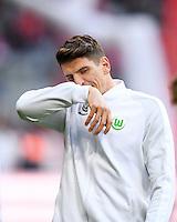 Fussball  1. Bundesliga  Saison 2016/2017  14. Spieltag  FC Bayern Muenchen - VfL Wolfsburg    10.12.2016 Mario Gomez (VfL Wolfsburg)