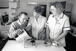 Occupational therapists, Nottingham City Hospital, Nottingham UK 1990