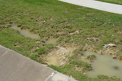 Hurricane Harvey - Aftermath Erosion